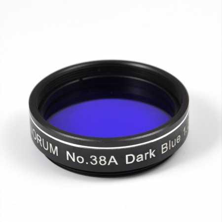 Filter Binorum No.38A Dark Blue 1,25″