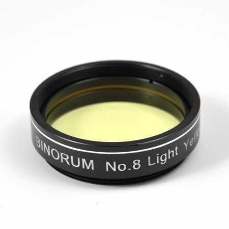 Filter Binorum  No.8 Light Yellow (Svetlo žltý) 1,25″