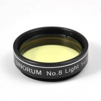 """Filter Binorum  No.8 Light Yellow (Svetlo žltý) 1.25"""""""