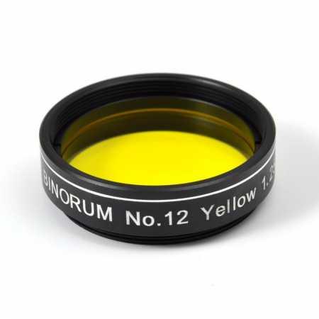 Filter Binorum No.12 Yellow (Žltý) 1,25″