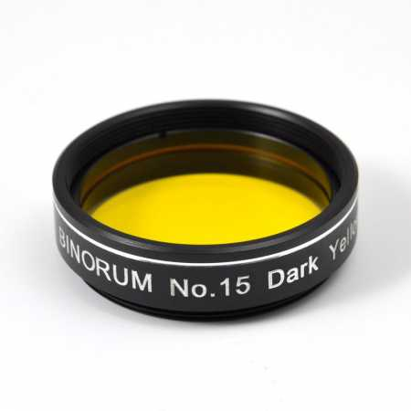 Filter Binorum No.15 Dark Yellow 1,25″