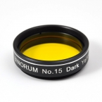 Filter Binorum No.15 Dark Yellow 1.25""
