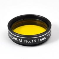 """Filter Binorum No.15 Dark Yellow 1.25"""""""