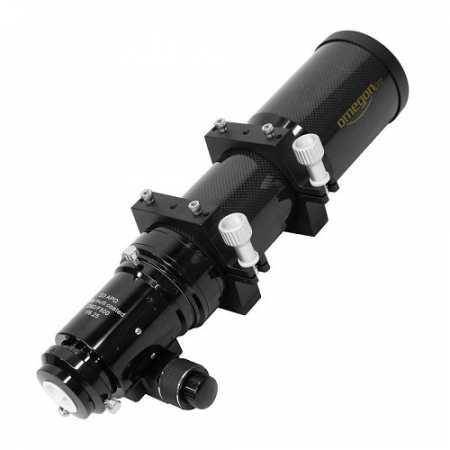 """Hvezdársky ďalekohľad Omegon AP 80/500 ED Carbon OTA - <span class=""""red"""">Pouze tubus s příslušenstvím, bez montáže, bez stativu</span>"""