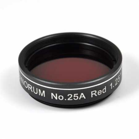 Filter Binorum No.25A Red (Červený) 1,25″