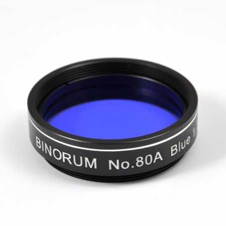 Filter Binorum No.80A Blue (Modrý) 1,25″