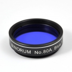 "Filter Binorum No.80A Blue (Modrý) 1.25"""