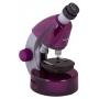 Mikroskop Levenhuk LabZZ M101 Amethyst\Ametyst 40x-640x