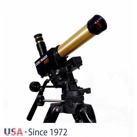 """Solárny teleskop Coronado PST 40/400 OTA - <span class=""""red"""">Pouze tubus s příslušenstvím, bez montáže, bez stativu</span>"""