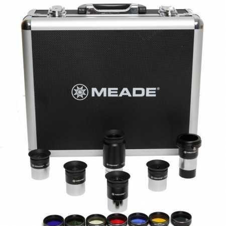 Sada 1,25″ okulárů a filtrů Meade Series 4000