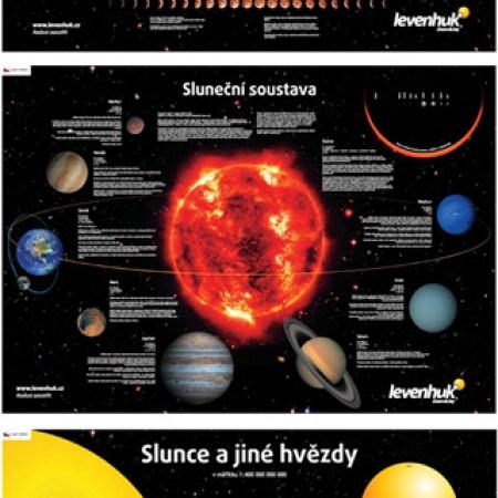 Sada plagátov Levenhuk s vesmírnou tematikou