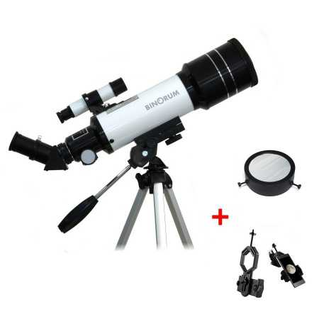 Hvezdársky ďalekohľad Binorum Traveler 70/400 Deluxe AZ