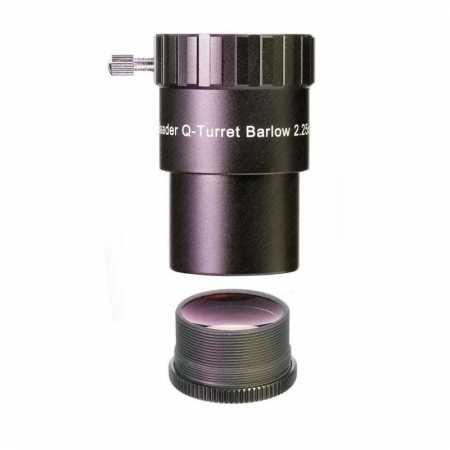 Barlow šošovka Baader Planetarium 2.25X/1.3X Q-Classic HT 1,25″