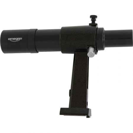 Hľadáčik Omegon 6x30 finder scope, black - provides an upright, non-reversed image