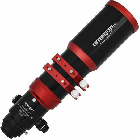 """Apochromatický refraktor Omegon Pro APO104/650 ED Triplet OTA - <span class=""""red"""">Pouze tubus s příslušenstvím, bez montáže, bez stativu</span>"""