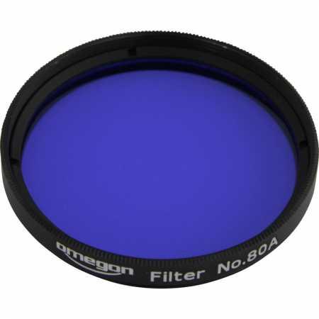 Filter Omegon #80A 2″ colour, blue
