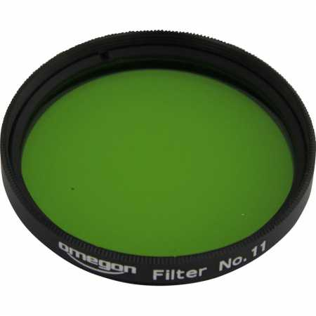 Filter Omegon colour #11 yellowgreen 2″