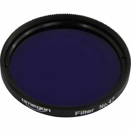 Filter Omegon #47 2″ colour, violet