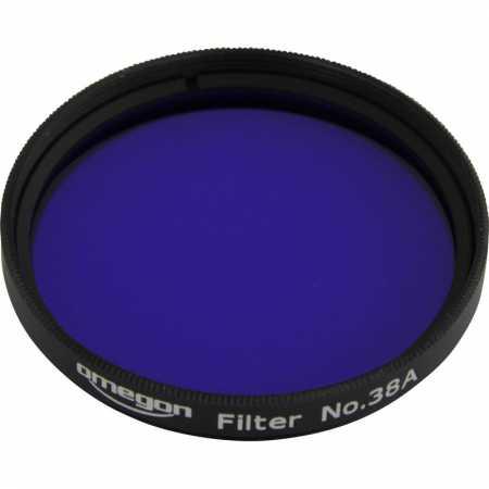 Filter Omegon #38A 2″ colour, dark blue