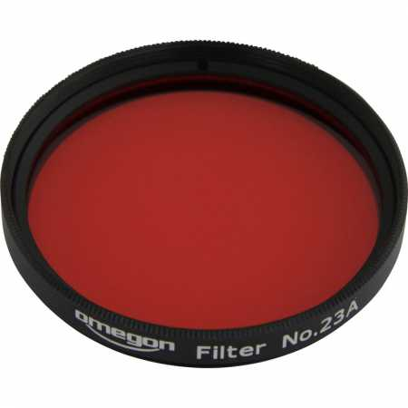 Filter Omegon #23A 2″ colour, light red