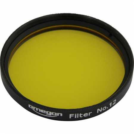 Filter Omegon #12 2″ colour, yellow