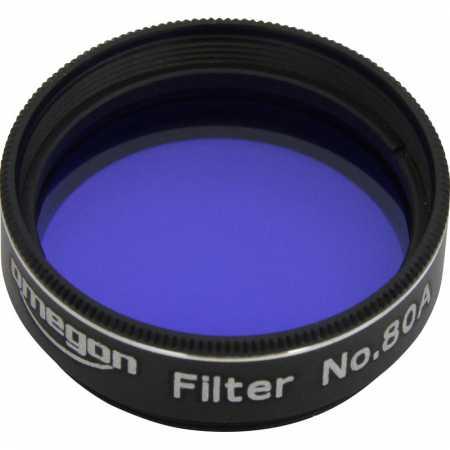 Filter Omegon #80A 1,25″ colour, blue
