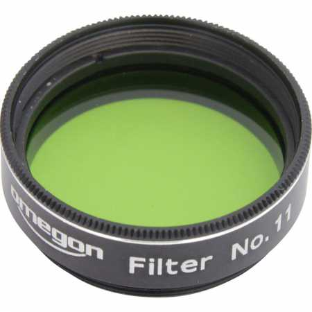 Filter Omegon #11 1,25″ colour, green