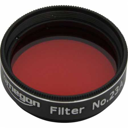Filter Omegon #23A 1,25″ colour, light red