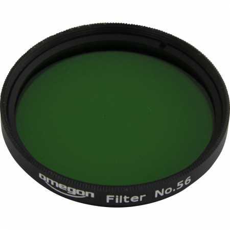 Filter Omegon #56 2″ colour, light green