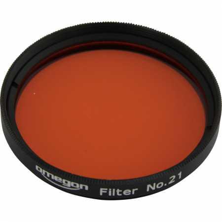 Filter Omegon #21 2″ colour, orange