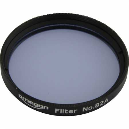 Filter Omegon #82A 2″ colour, light blue