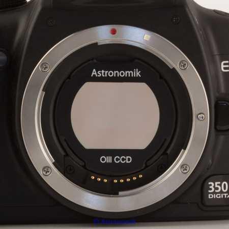 Filter Astronomik OIII CCD EOS clip-