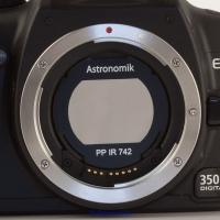 Filter Astronomik IR ProPlanet 742 bandpass, EOS clip
