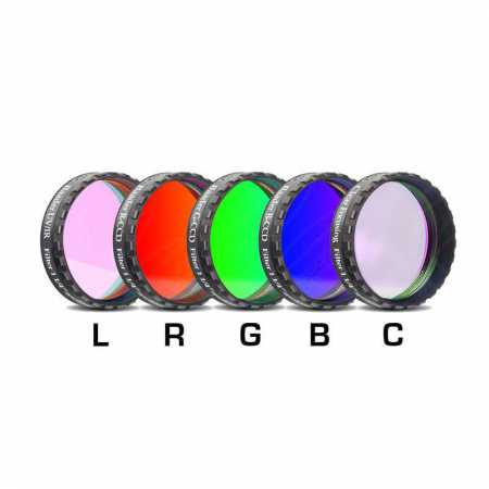 Filter Baader Planetarium LRGBC-H-alpha 1,25″ 35nm, OIII and SII set