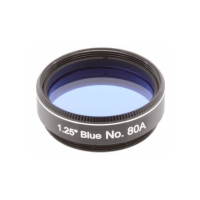 "Filter Explore Scientific Blue #80A 1,25"""