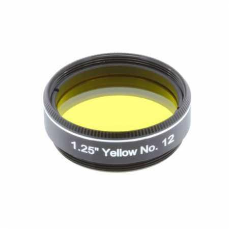 Filter Explore Scientific Yellow #12 1,25″