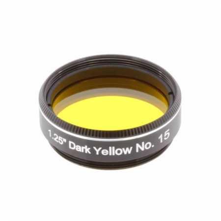 Filter Explore Scientific Dark Yellow #15 1,25″