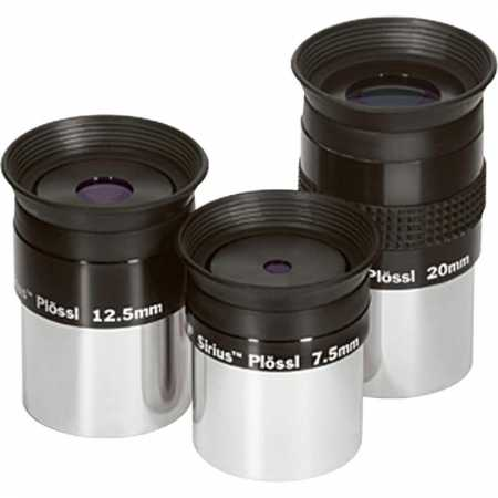 Eyepiece Orion Sirius Plössl Okular Expansion Set