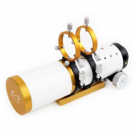 """Apochromatický refraktor William Optics 71/350 WO-Star 71 Gold OTA - <span class=""""red"""">Pouze tubus s příslušenstvím, bez montáže, bez stativu</span>"""