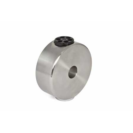 """Baader Planetarium 6kg CDP-counterweight for GM 1000 stainless steel (V2A), incl. 1/4"""" photo thread"""