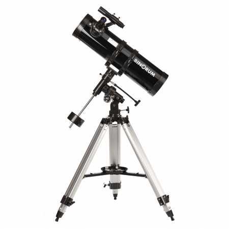 Hvezdársky ďalekohľad Binorum DeepView 130/650 EQ3 - ROZBALENO