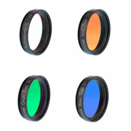 Súprava filtrov Astronomik 1,25″ LRGB