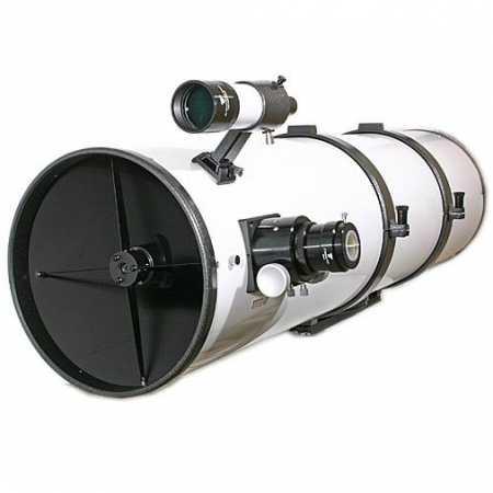 """Hvězdářský dalekohled GSO 254/1250 Newton 2&Prime; Crayford 1:10 OTA - <span class=""""red"""">Pouze tubus s příslušenstvím, bez montáže, bez stativu</span>"""