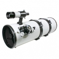 """Hvězdářský dalekohled GSO 200/1000 Newton 2"""" Crayford 1:10 OTA"""